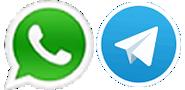WhatsApp y Telegram